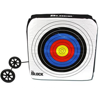 Block Bullseye Target