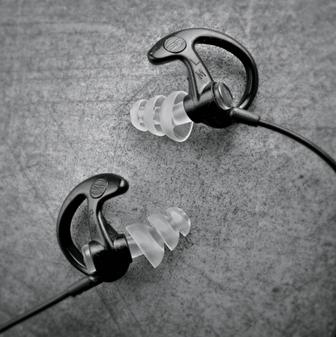 Triple Flanged Earplugs MD