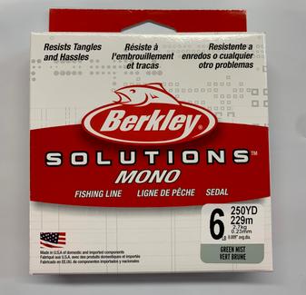 Solutions Monofil 6lb 250yd