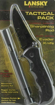 Tactical Knife/Sharpener Combo