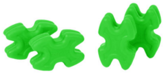 TwistLox Dampeners - Green