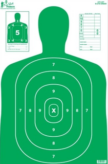 "23"" x 35"" B27 Silhouette Target"