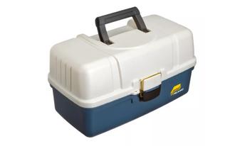 XL 3 Tray Box - Blue/Silver