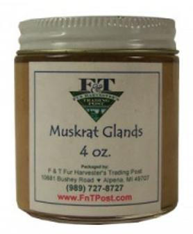 Muskrat Glands Animal Extract