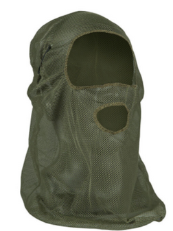 OD Green Mesh Face Mask