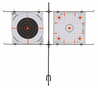 Double Paper Target Stand
