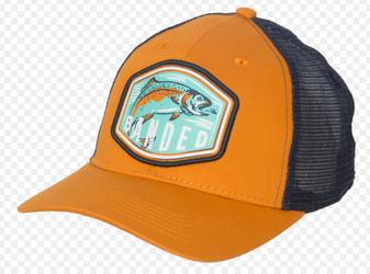 Trout Scout Trucker Hat Orange