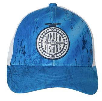 Reel Deal Trucker Hat RT Blue