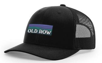 Waves Mesh Hat (Black) (OLDROW ROW485)
