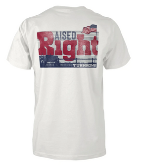 Raised Right S/S Tee