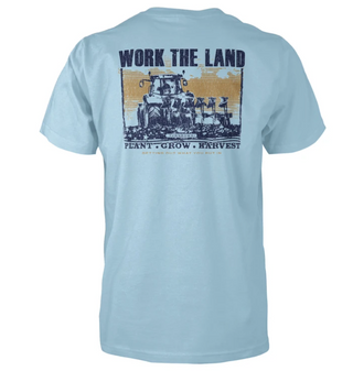 Work The Land S/S Tee
