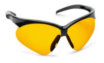 Crosshair Shooting Glasses AMB