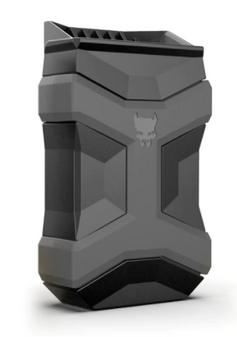 9mm-45 ACP Univ Mag Carrier- BLK