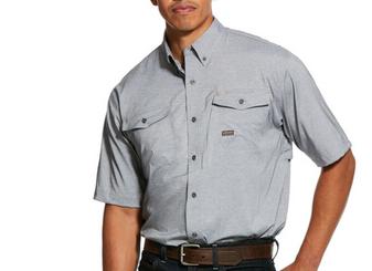 Rebar Made Tough Venttek Shirt