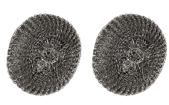 Replacement Mesh Scrubbers 2pk