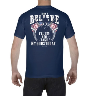 I Don't Believe S/S Tee