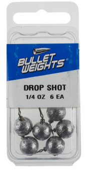 3/16oz Round Lead Drop Shot