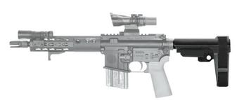 AR Pistol Brace 5 Adjustment