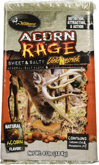Acorn Rage Salt Block