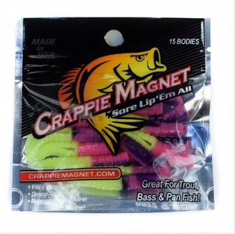 "1-1/2"" Crappie Magnet 15pk"