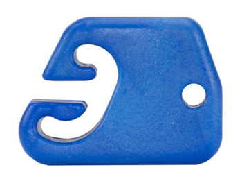 Slippery Slide Cable Guide BLU