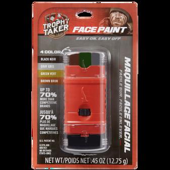 Trophy taker 4 Color Face Paint
