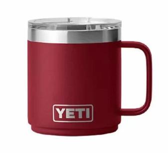 Yeti Rambler 10oz Mug - Harvest Red