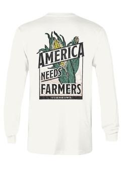 Turnrow Need Farmers LS Tee
