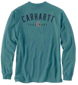 Carhartt Loose Fit HW L/S Trademark Tee
