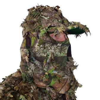 3D Leafy Mesh Back Cap w/Mask