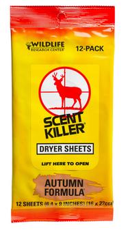Wildlife Research Center Autumn Formula Dryer Sheets