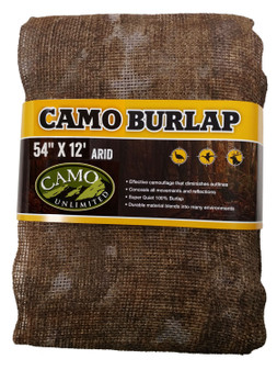 "Camo Unlimited Marsh Burlap 54""x12'"