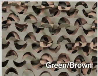 "Camo Unlimited 7'10""x19'8"" Ultra-Lite Net Green"