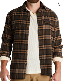 Banded Everglades Flannel Shirt