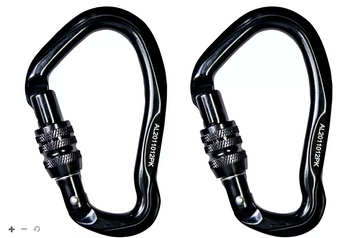 Hunter Safety Systems 2-Pack Carabiner