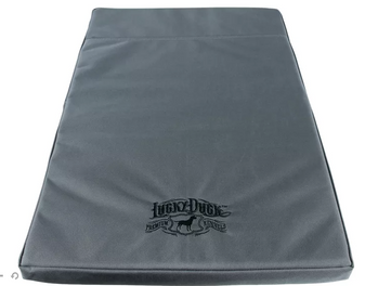 Lucky Duck Kennel Comfort Pad Gray