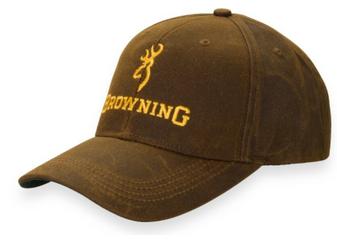 Browning Dura Wax Hat - Brown
