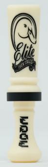 Elite Duck Calls Acrylic Freak - Ivory/Black