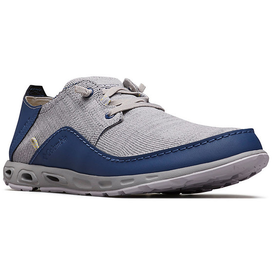 Men's Bahama™ Vent Relaxed PFG Knit Boat Shoe by Columbia right side front