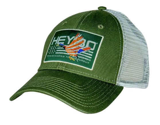 Heybo Patriotic Duck Patch Hat