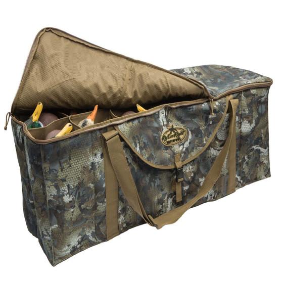Rig' Em Right 12 Slot Deluxe Decoy Bag-Timber