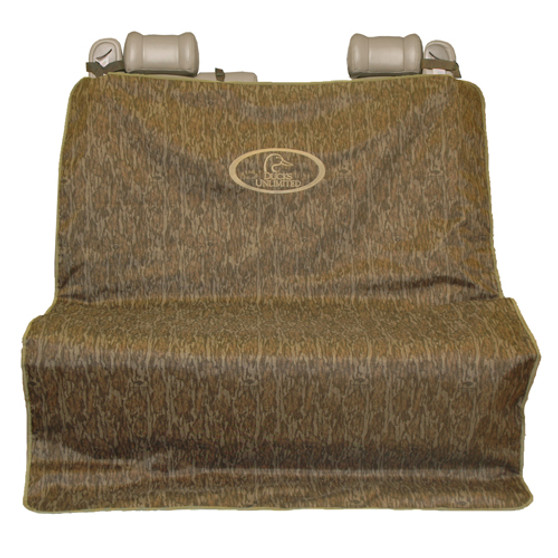 Ducks Unlimited 2 Barrel Seat Cover XL Bottomland Camo