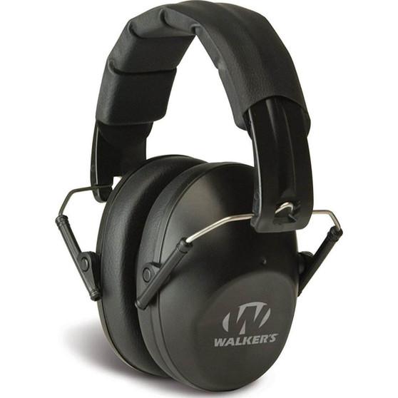 Pro-Low Profile Folding Ear Muff - Black