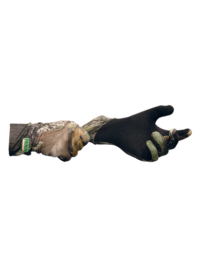 Stretch Fit Gloves w/Sure-Grip And Extended Cuff - Mossy Oak Breakup
