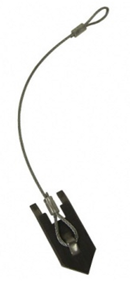 """3/32""""x12"""" Wolf Fang Anchor w/Cable"""