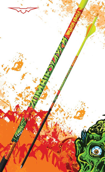 """.003"""" Zombie Slayer Crested Arrows"""