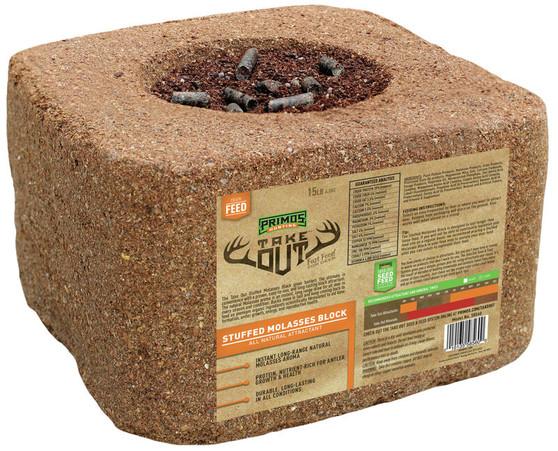Take Out 15lb Stuffed Molasses Block