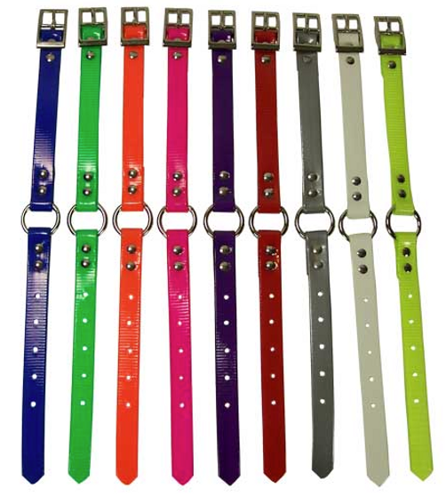 """3/4"""" Ring In Center Day-Glo Collars"""
