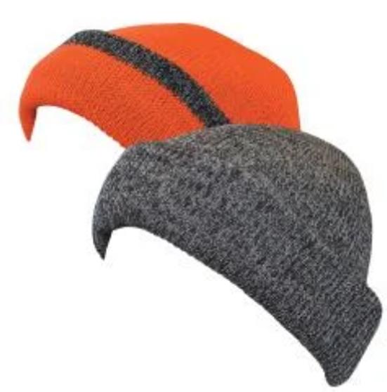 Reversible Knit Fat Cap