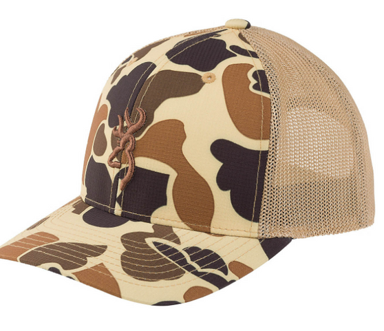 Browning Cupped Up Hat - tan